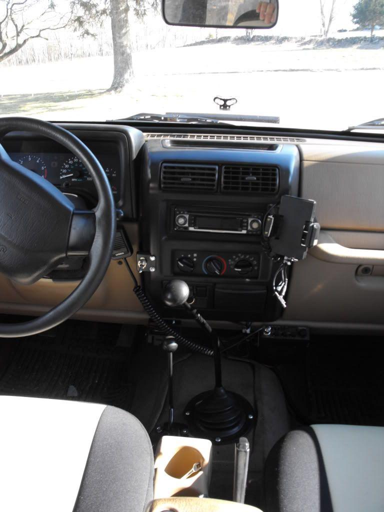 Half Console Tj Mod Custom Transfer Case Shifter Jeepforum Com Jeep Tj Jeep Yj Jeep Mods