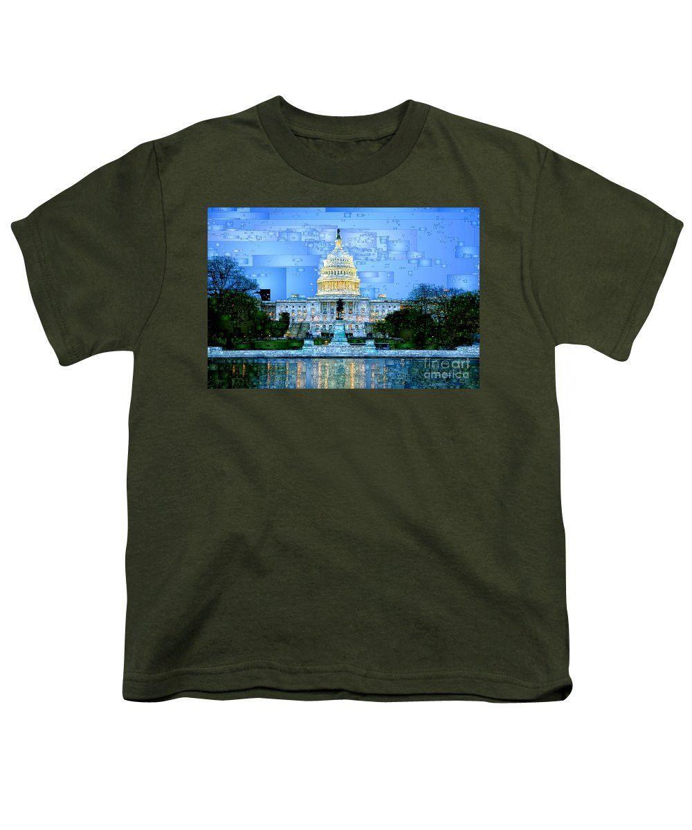Youth T-Shirt - Capitol In Washington D.c