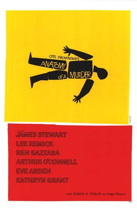 Anatomy of a Murder (Otto Preminger) | FILM POSTERS | Pinterest ...