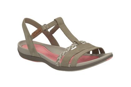 Clarks Women's Tealite Grace Wedge Heels Sandals