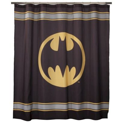 Batman Shower Curtain, Shower Curtain | Batman