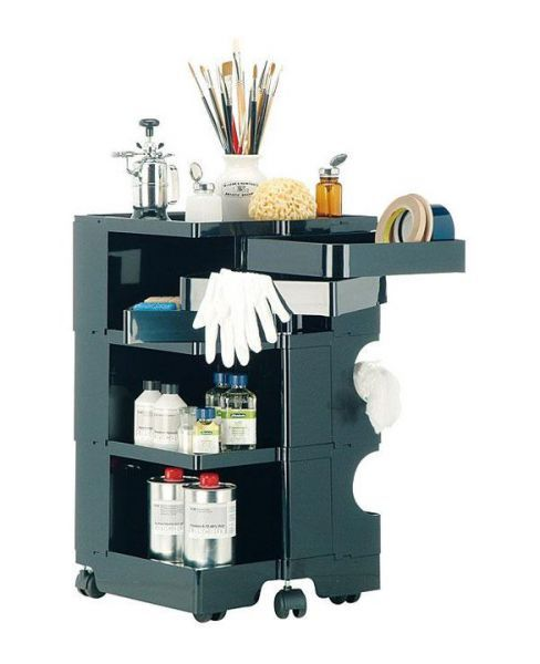 Boby storage trolley design joe colombo bline styling for Joe colombo boby
