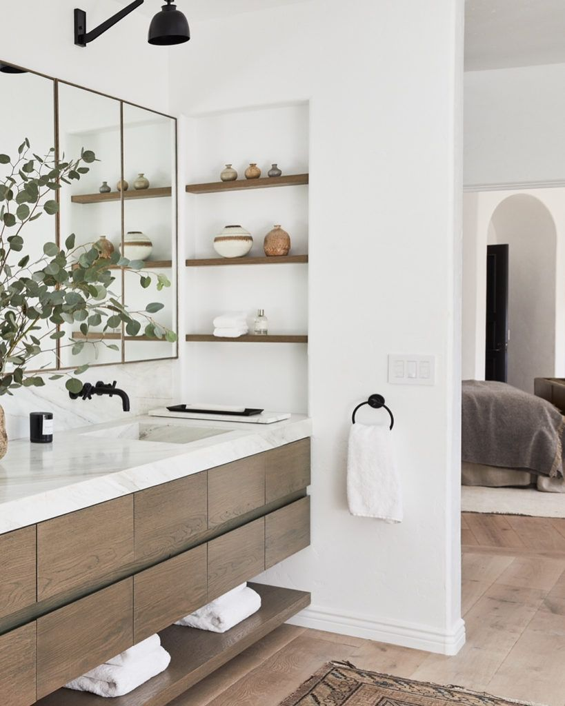 Grown Up Home (Habitually Chic) is part of home Furniture Bathroom - The family home of Who What Wear founder Katherine Power and her photographer husband Justin Coit is featured in a web exclusive tour on ArchitecturalDigest com  Justin actually took these photos  I p