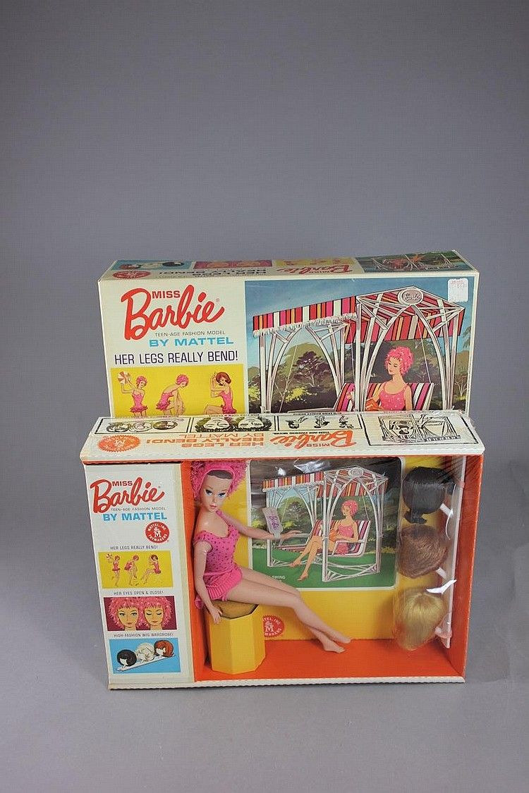 MISS BARBIE NRFB - McMasters Harris Appletree Doll Auctions   Artfact