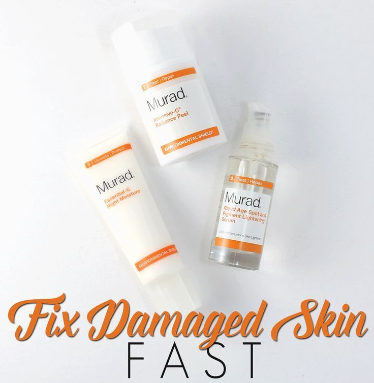 Fix Damaged Skin Fast with Murad Fix Damaged Skin Fast with Murad