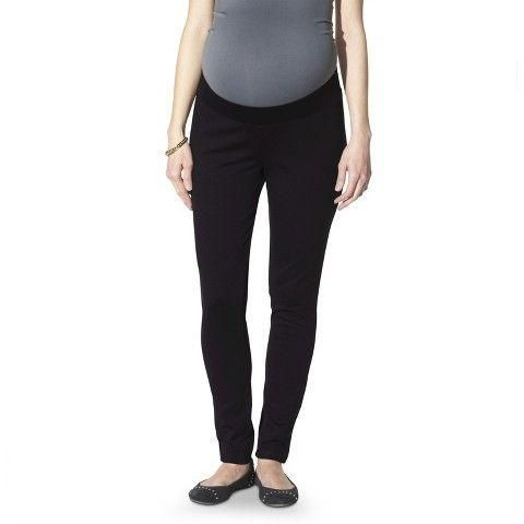 c924e0dbc5fea Liz Lange Maternity for Target Ponte Leggins Over The Belly Fitted Hip &  Thigh