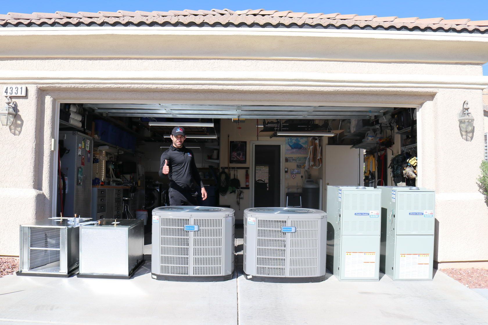 NEW Central AC Installation in Las Vegas Central air