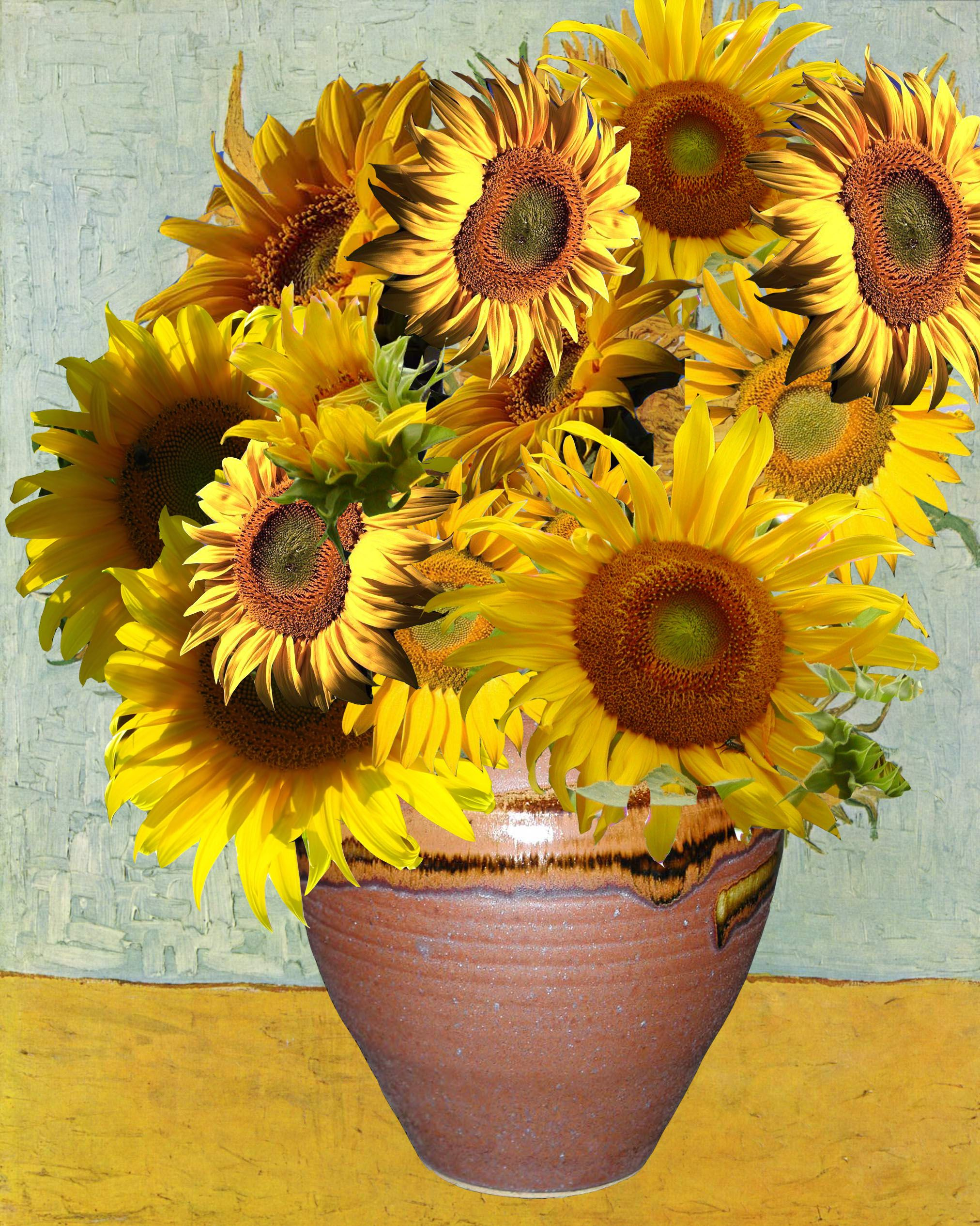 van gogh-sunflowers | Vincent van Gogh, 39;? and Search