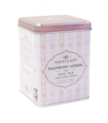 Raspberry Herbal Iced Tea