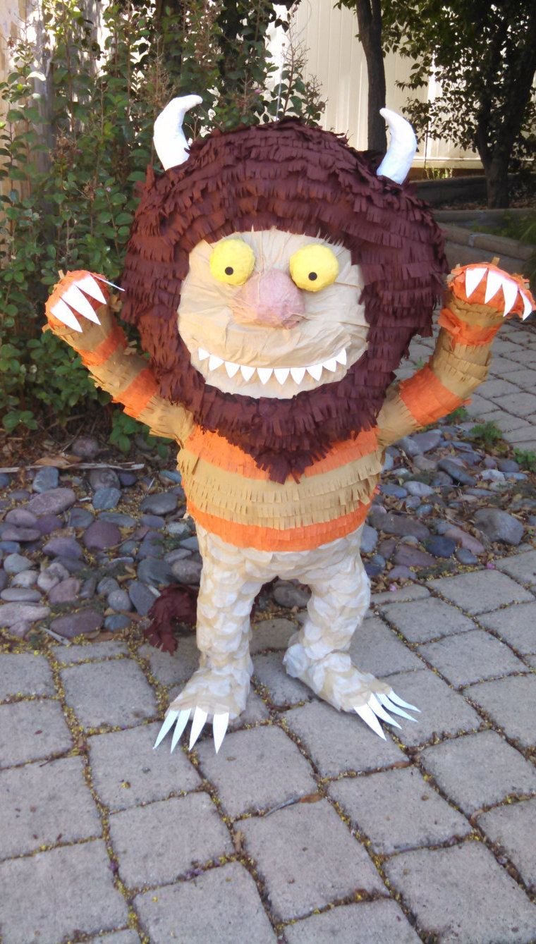 where the wild things are carol pinata by smashingfuncreations on