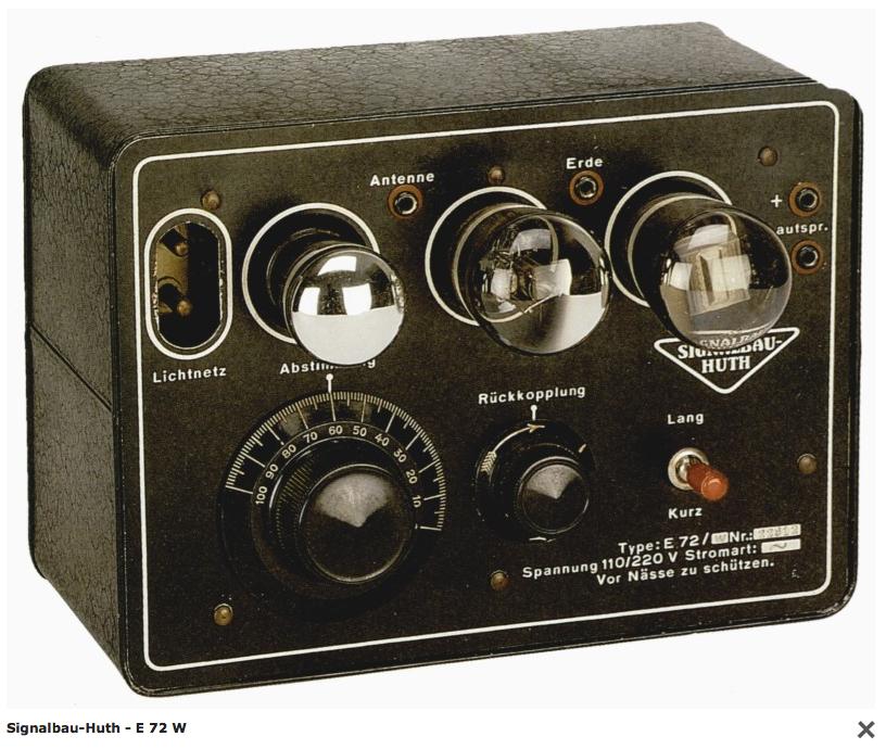 My German Tube Radio From 1927