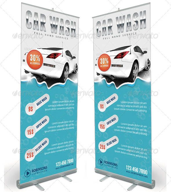 20 Beautiful Car Service Banner & Signage Templates – Design Freebies