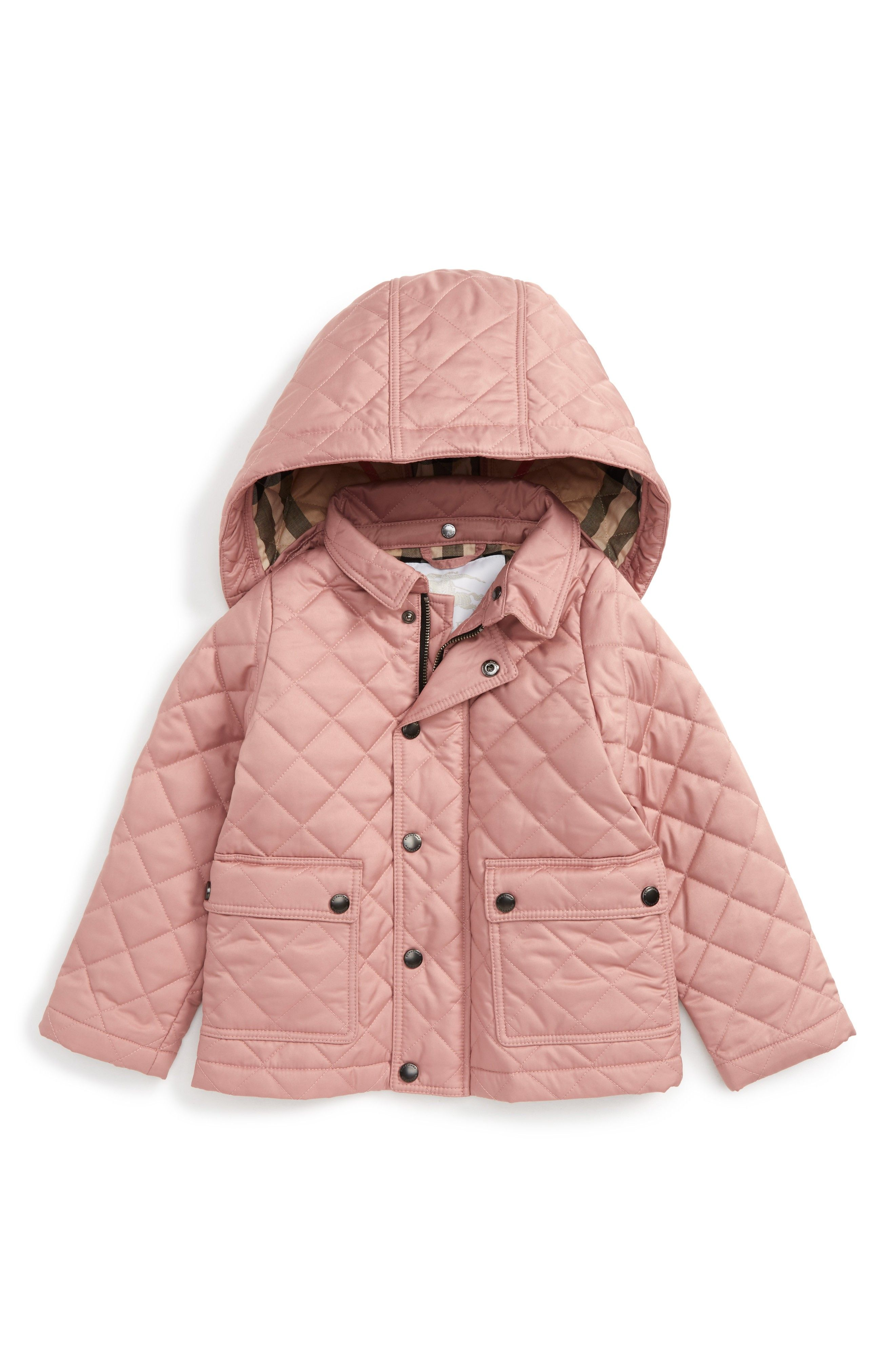 bb41d2e3a038 Jamie Quilted Hooded Puffer Jacket