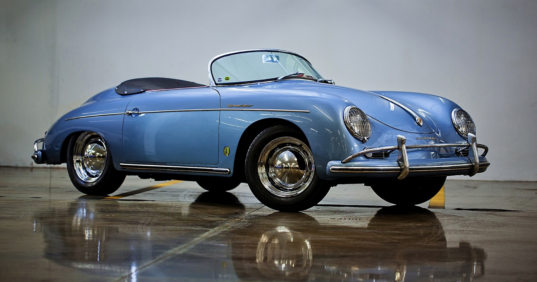 1956 Porsche 356a 1600 Speedster Gallery Supercars Net Porsche 356a Porsche Porsche 356 Speedster