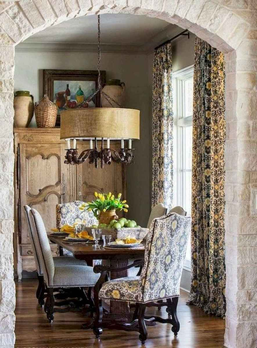 01 beautiful french country dining room decor ideas