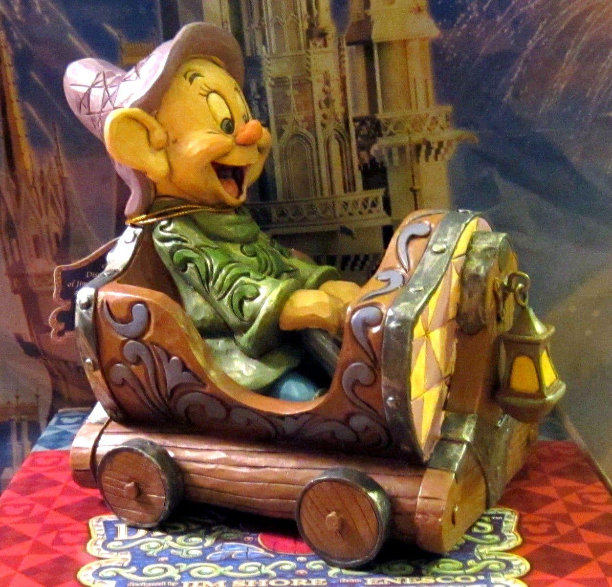 Jim Shore, Dopey Mine Train figurine. I need this ...