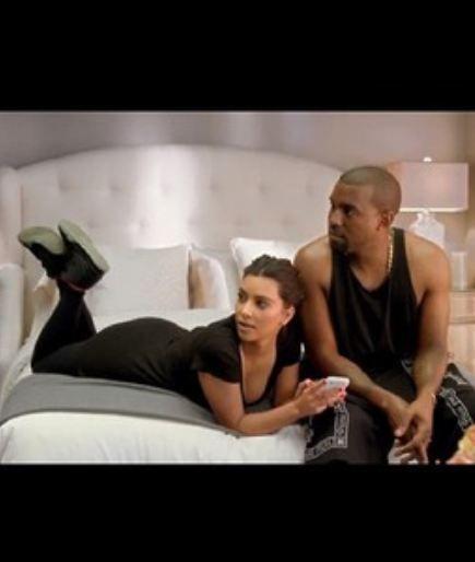 Kim Kardashian Rocking Nike Air Yeezy 2 Sneakers In Bed W Kanye West Kim Kardashian And Kanye Kim And Kanye Kim Kardashian