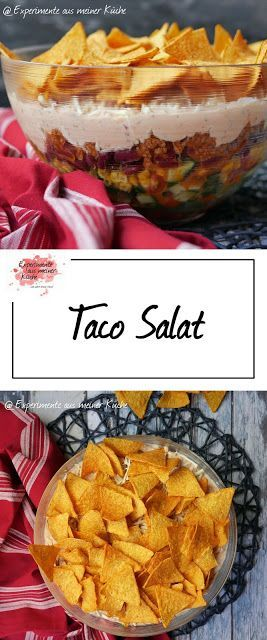 Taco-Salat {Partyrezepte} - Experimente aus meiner Küche