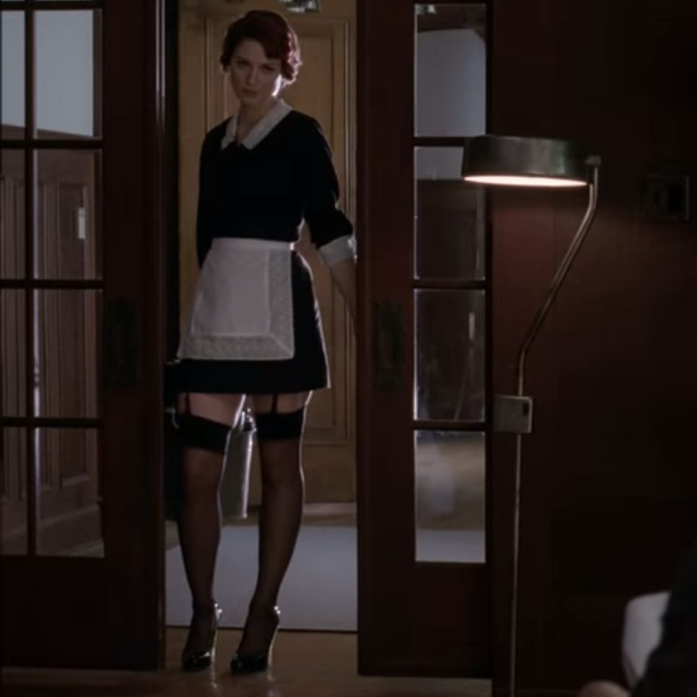 Moira O Hara Costume American Horror Story French Maid Costume