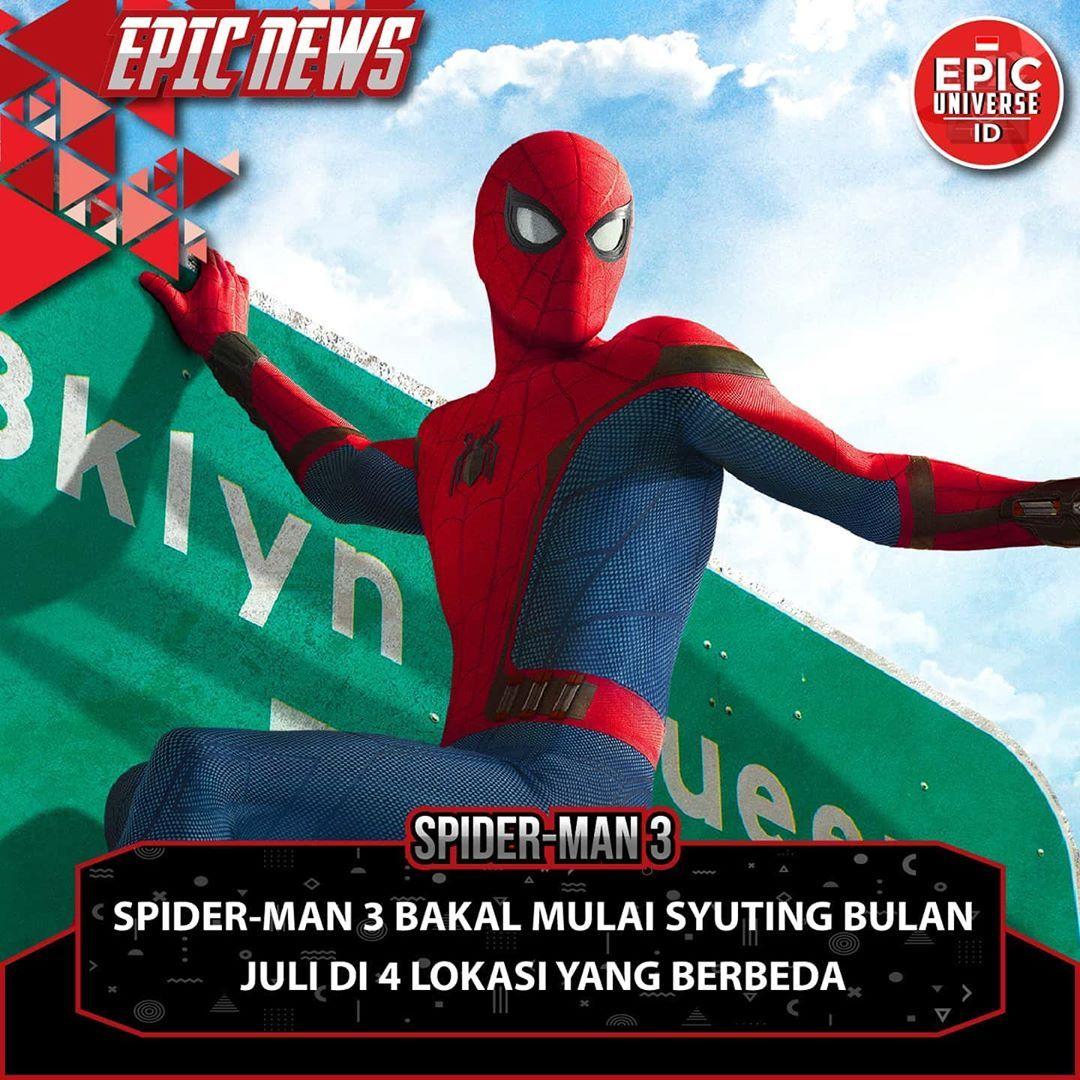 Lokasi yang akan dibuat latar tempat syuting film Spider