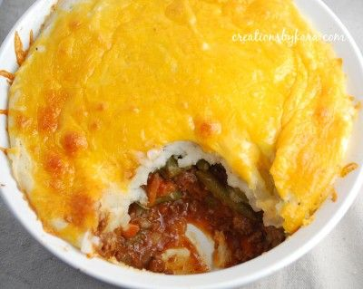Shepherds Pie 1lb Lean Ground Beef 1 Onion Diced 1 Carrot Shredded 1 Stalk Celery Chopped 1 Can Tomato Soup 1 Can Green Beans Frugal Meals Food Cheap Meals