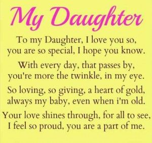 blessings for daughter from mother - Google Search | Mom