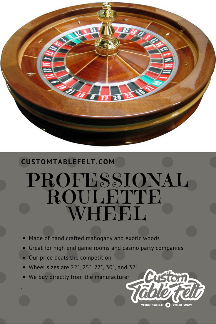 Professional Roulette Wheel High End American Style
