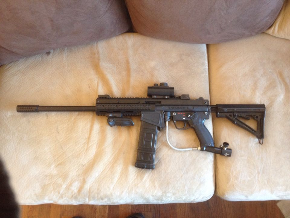magfed a5 with dmag magfed paintball pinterest paintball and a5