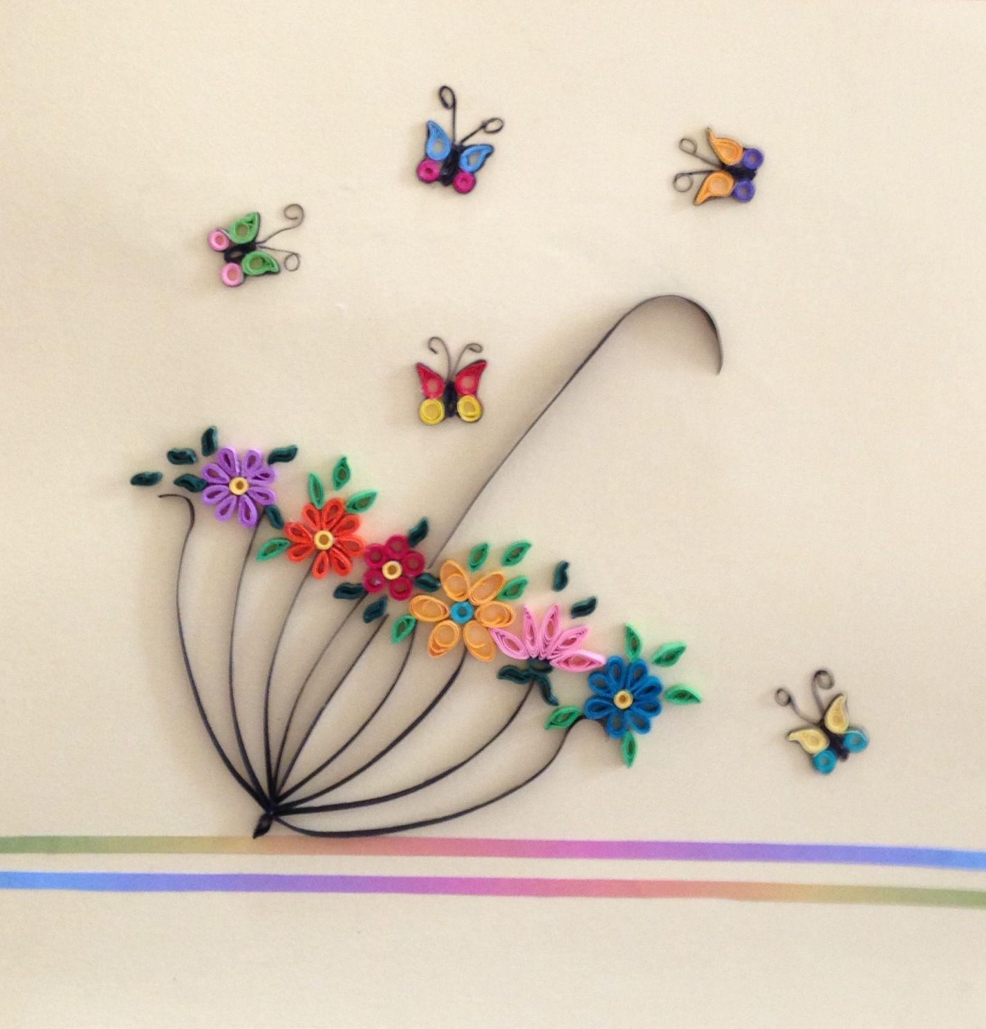 Best 11 Quilled Paper Art: I wanna dance with somebody by SenaRuna on Etsy – SkillOfKing.Com