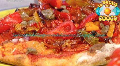 Pizza peperoni tonno e pomodori ricetta Gabriele Bonci