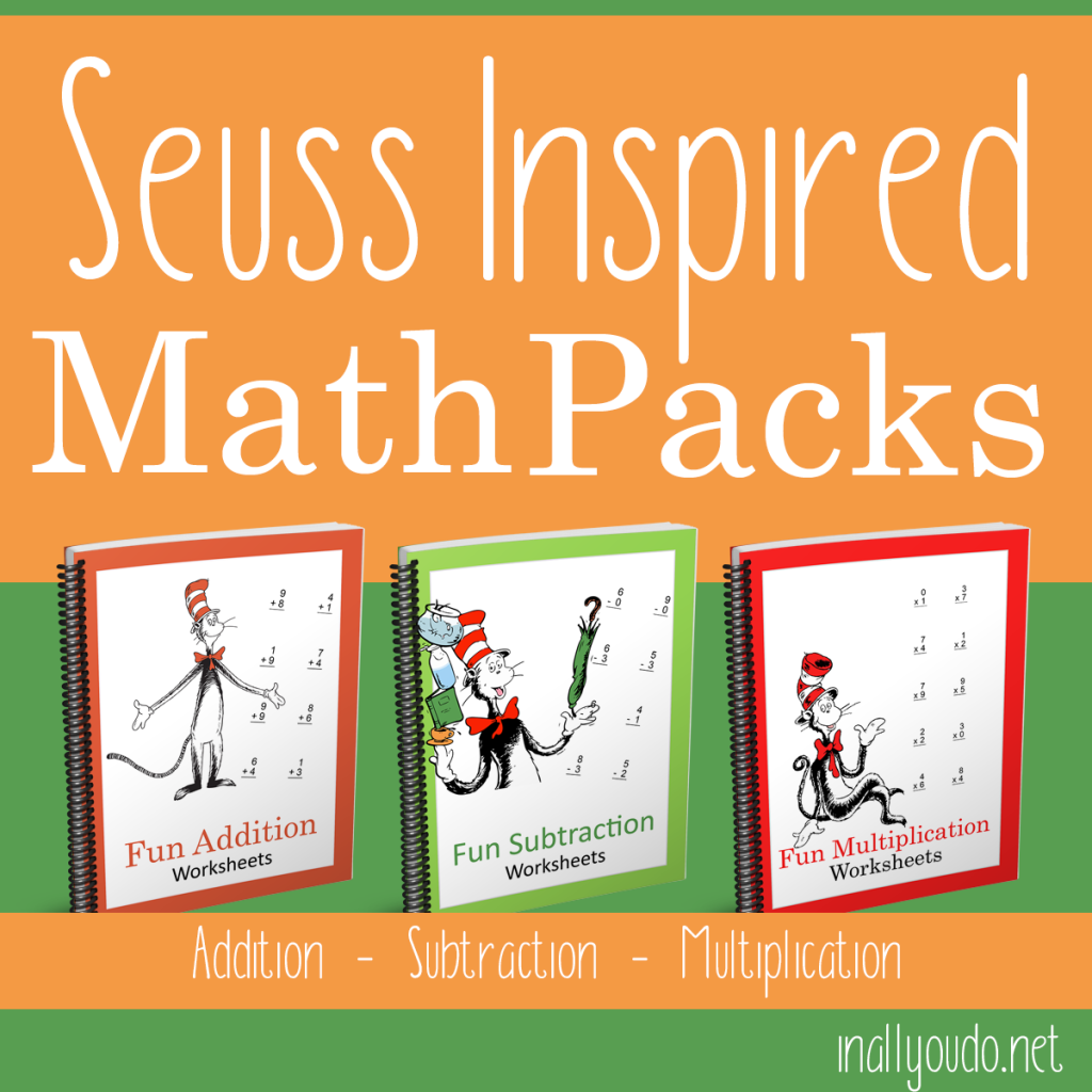 Seuss Inspired Math Pack