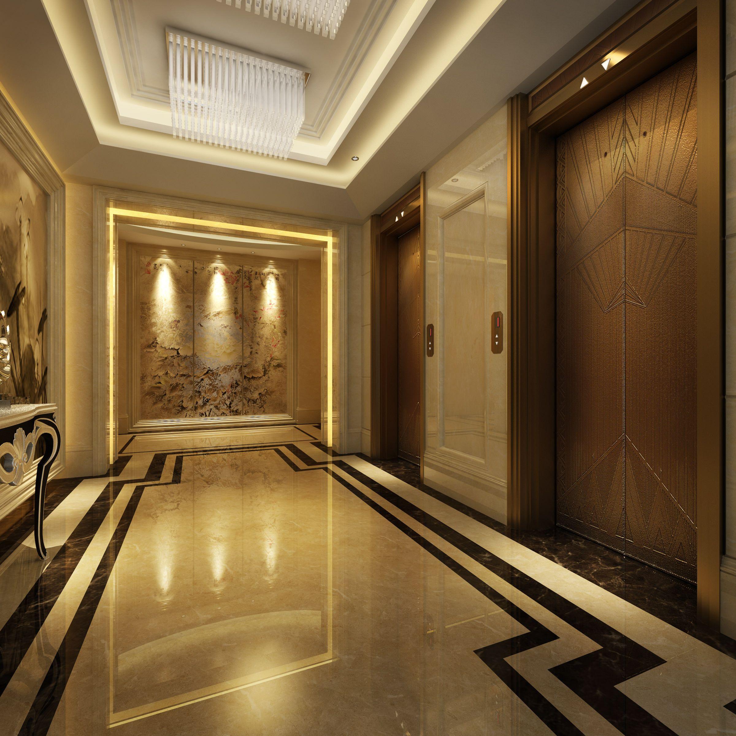 Hall Entrance 3D Model MAX