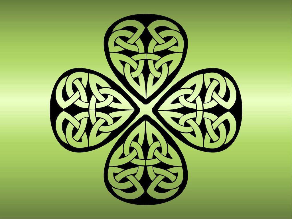 Celtic shamrock   koi negro   Pinterest   Koi y Negro