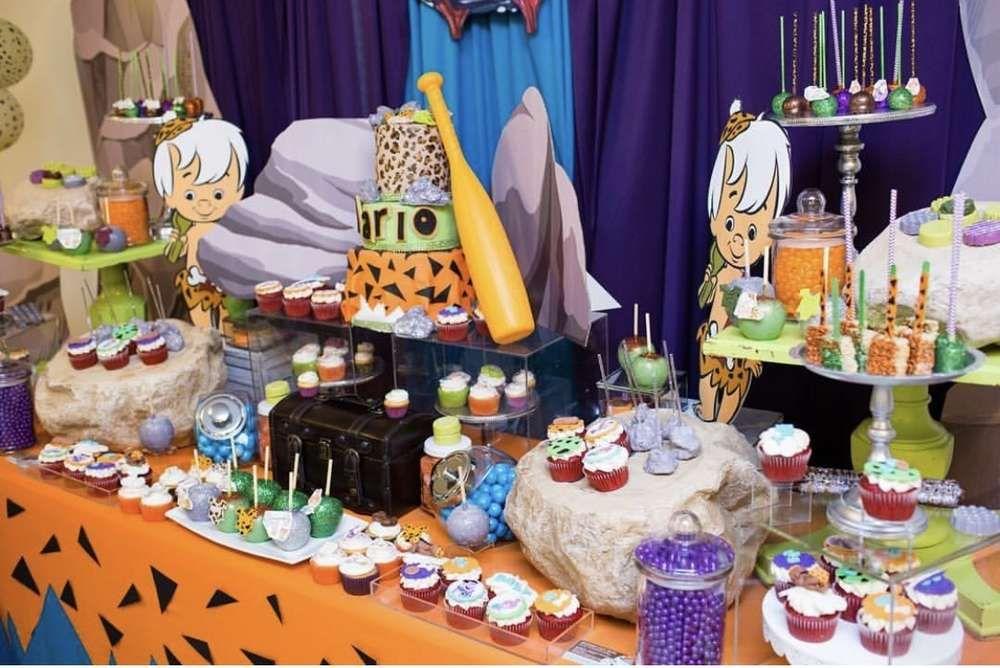 Decoración De Bam Bam Fiestas Infantiles Ideas Para Piñata