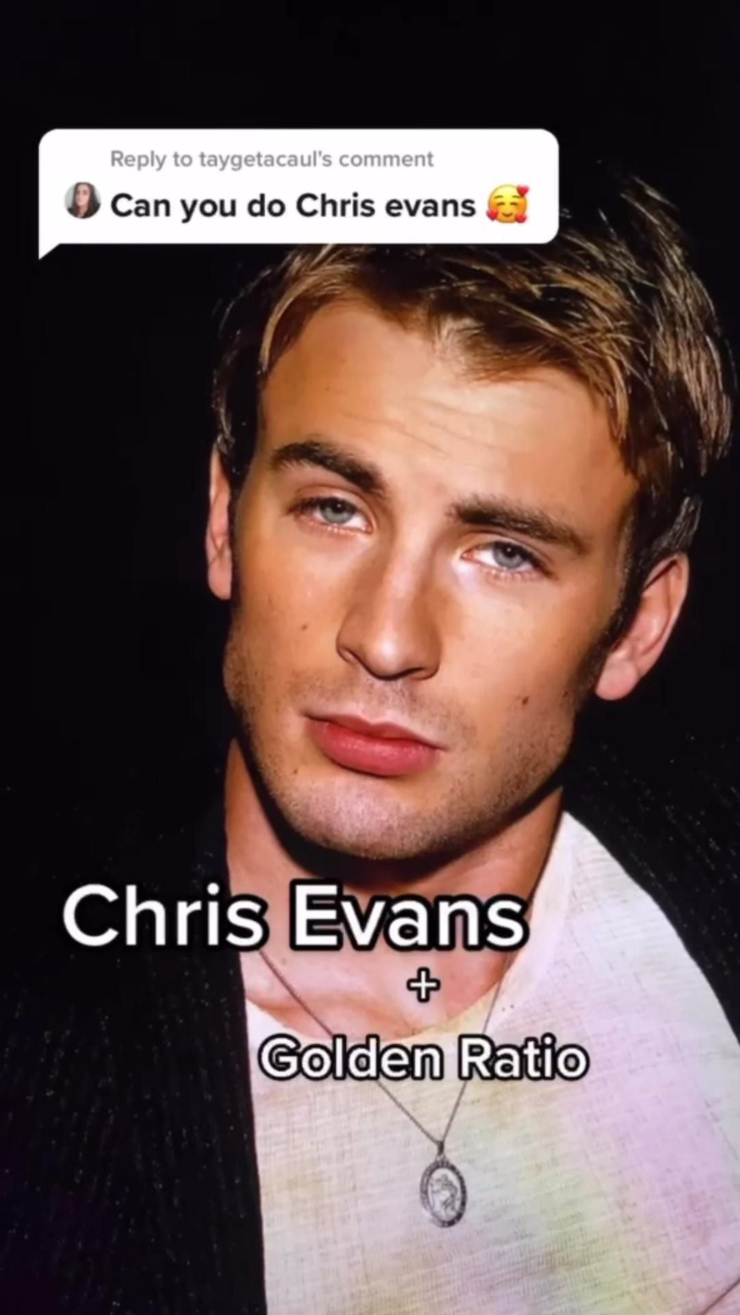 Chris Evans and the golden ratio