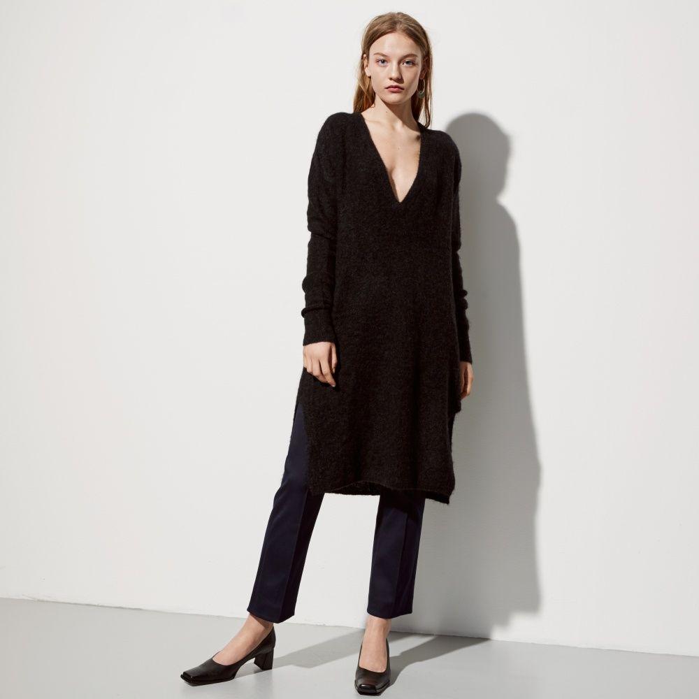 FWSS Going Under black mohair mix dress - FWSS - Fall Winter Spring Summer - shop online
