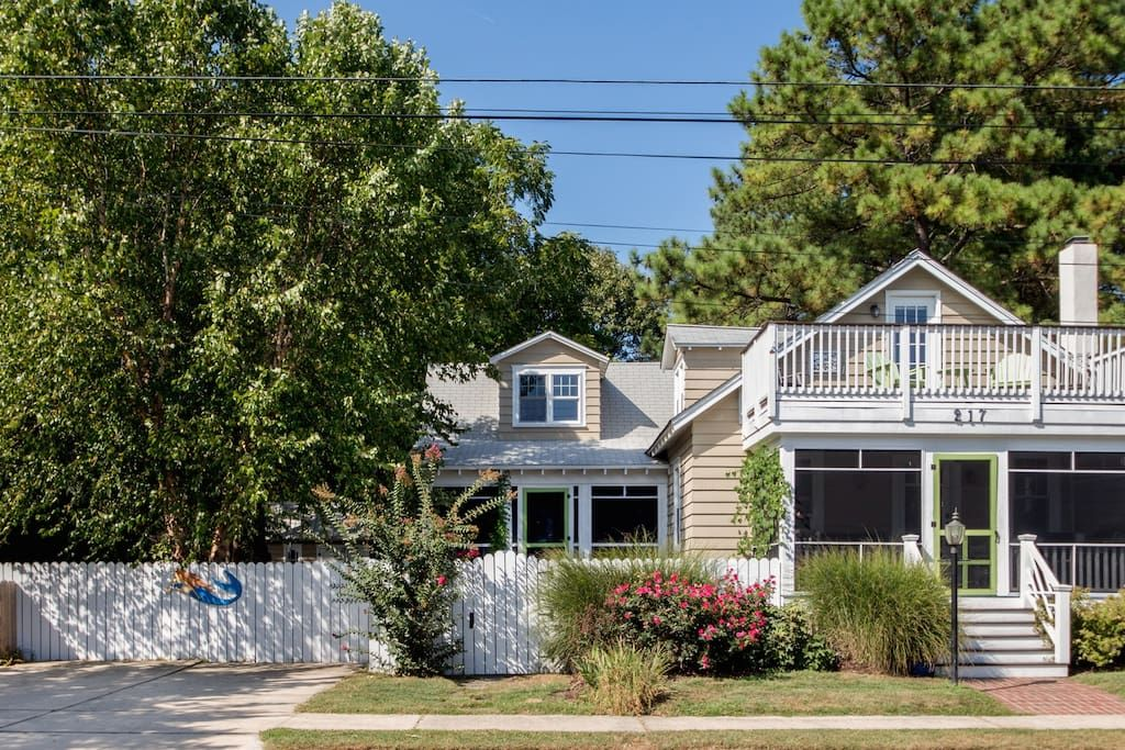 House In Rehoboth Beach United States Our Beloved Cottage Overlooks Get