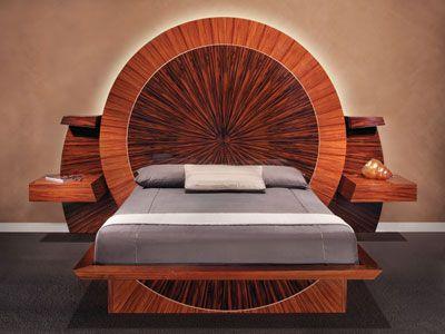 """18th CWB Design Portfolio Overall Winner: Parnian Design & Mfg., Scottsdale, AZ, for """"Sunset Bed."""""""