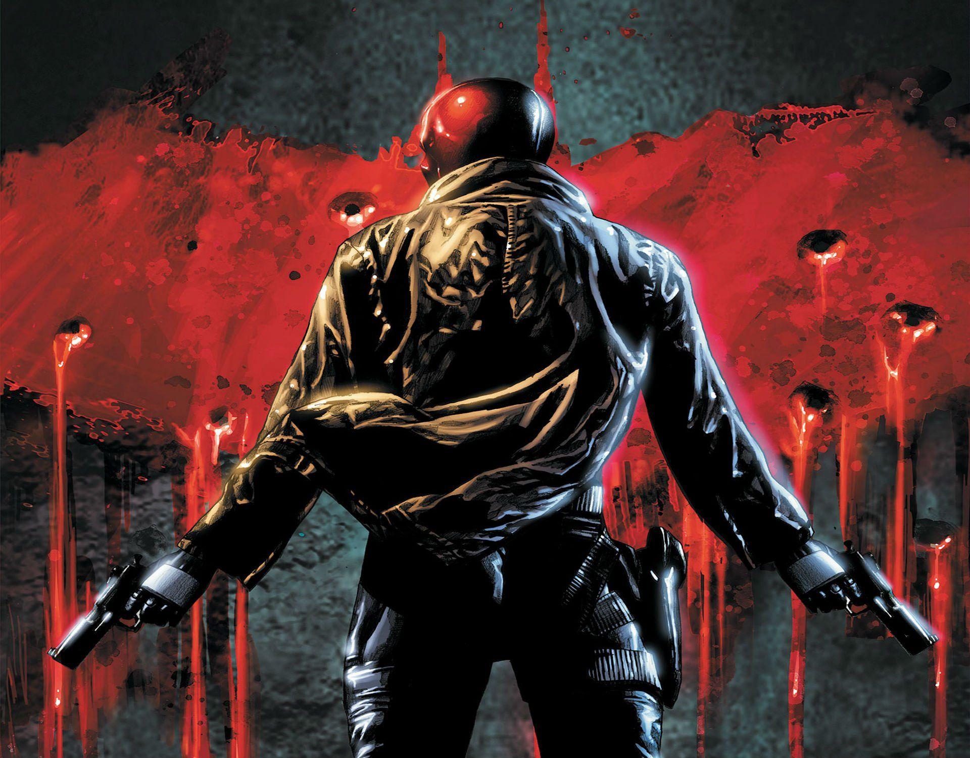 batman dc comics red hood wallpapers epic car