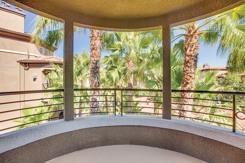 Homes offer spacious balconies or patios la brea