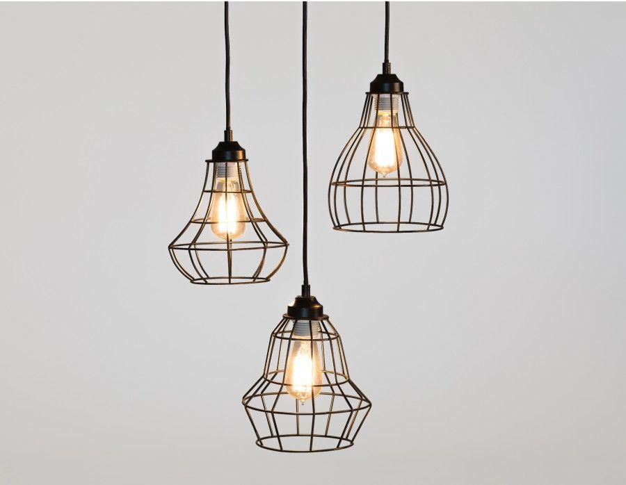 OSLO Suspension Design industriel, Filament et Ampoule