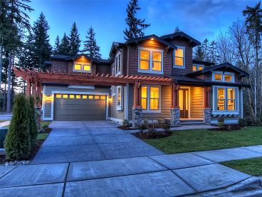 Craftsman Home Photo, 035H-0079