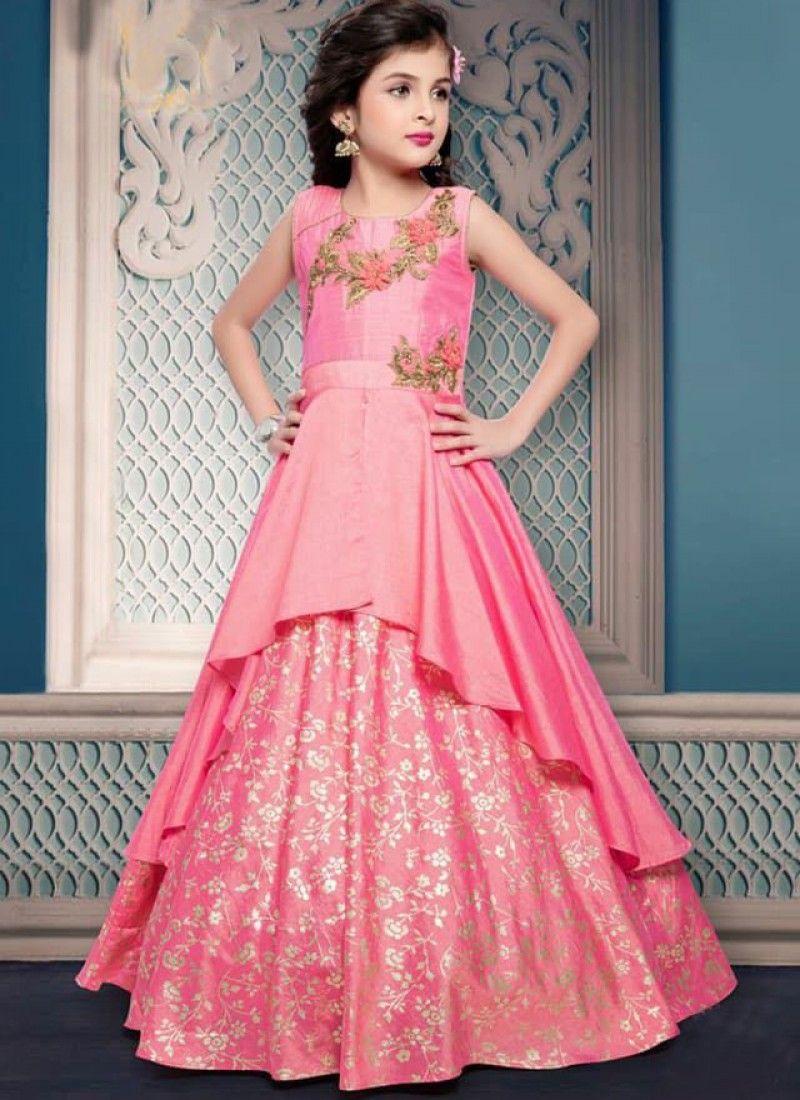 Kids wear latestkidswear girlsoutfits stylishclothesforkids gown frock design designer also latest party frocks for girls rh pinterest