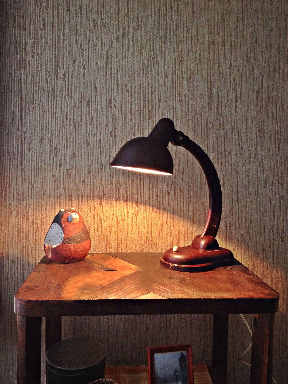 Soviet Desk Lamp Kgb Lamp Vintage Desk Lamp Ussr 50s Vintage Table