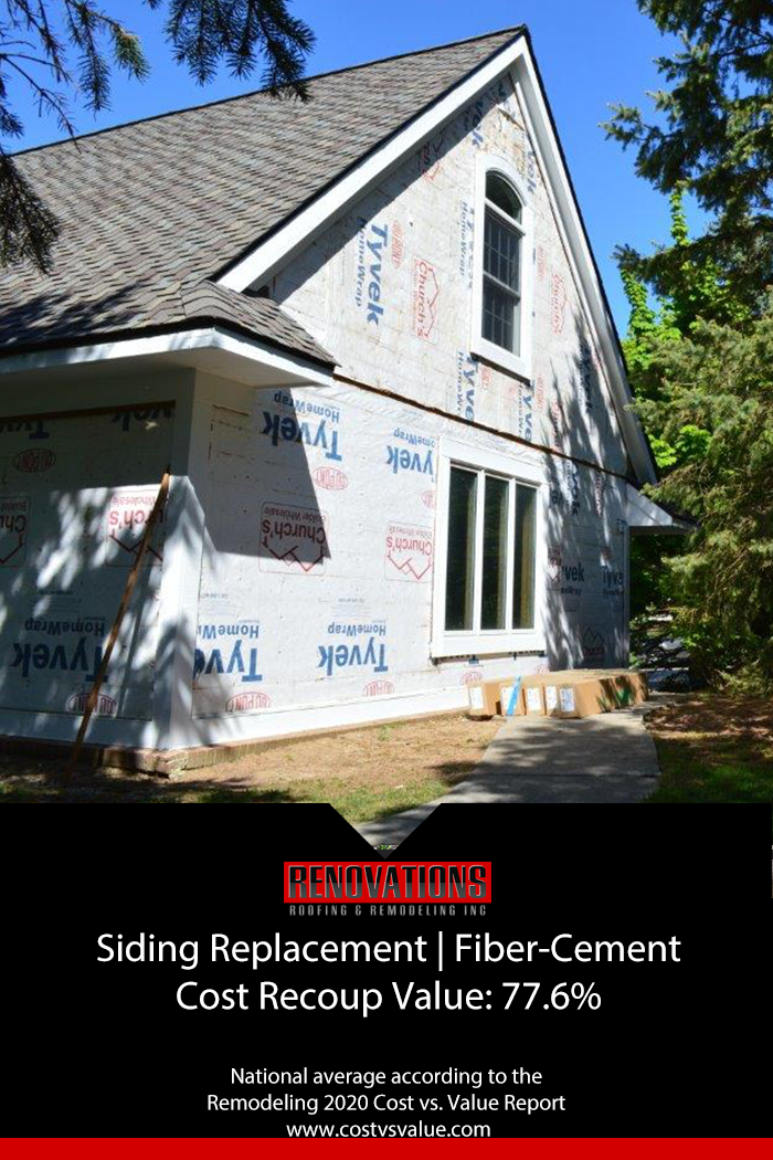 Siding Replacement Return On Investment In 2020 Replacing Siding Siding Remodel