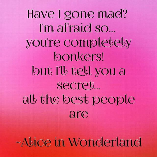 Can you guess which makeup tutorial is coming? 🎩💜 #aliceinwonderland #quotes #bonkers #makeup #tutorials