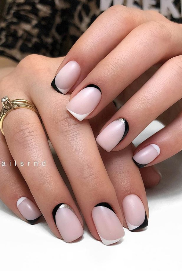 30 Hottest Natural Short Nails For Summer Nails Ideas Page 28 Of 30 Latest Fashion Trends For Woman In 2020 Short Square Nails Square Nail Designs Square Nails