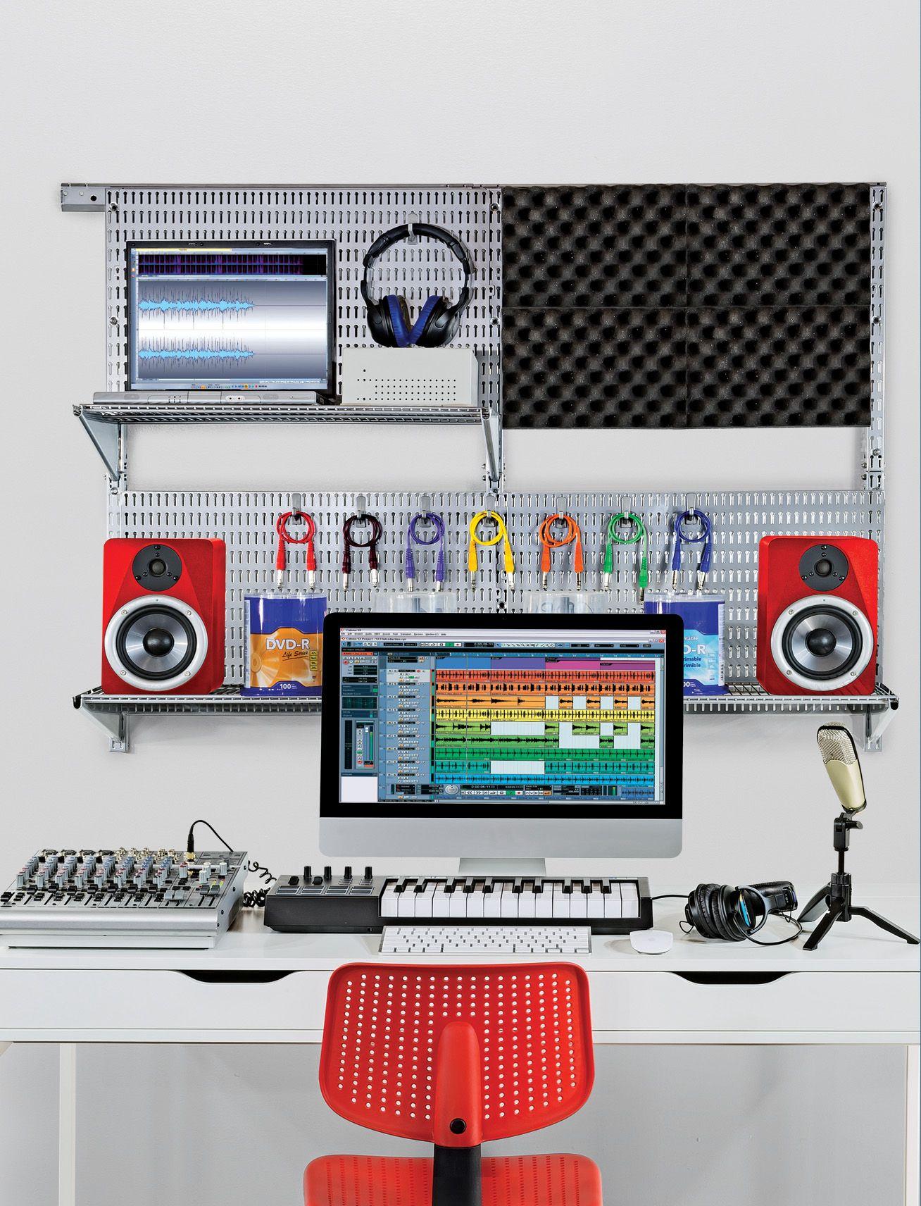 63 piece wall mount starter kit in 2019 home office organization rh pinterest com