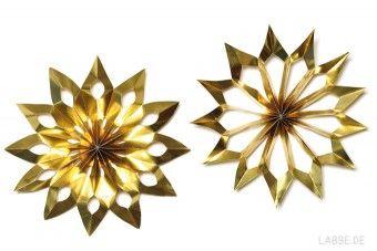 Weihnachtsbasteln Sterne Aus Goldpapier.Scherenschnitt Goldsterne Pdf Advent Weihnachten Sterne
