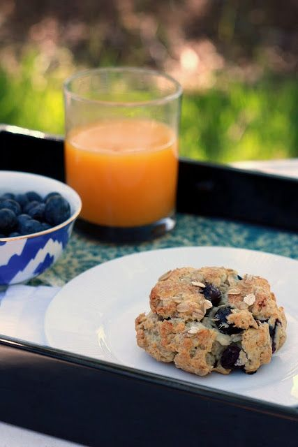 Yummy Mummy Kitchen: Blueberry Oatmeal Scones Recipe